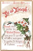 Souvenir De L'Abbaye Notre-Dame D'IGNY (Marne) - Ite Ad Joseph ! était Prêtre De L'Enfant Jésus, Non Pour Le  ... - TBE - Devotion Images