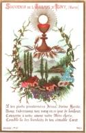 Souvenir De L'Abbaye Notre-Dame D'IGNY (Marne) - Les Pieds Prosternés Jésus, Divine Hostie, Nous T'adressons ... - TBE - Devotion Images