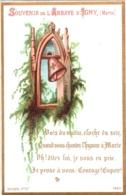Souvenir De L'Abbaye Notre-Dame D'IGNY (Marne) - Voix Du Matin, Cloche Du Soir, Quand Vous Chantez L'hymne à Marie.. TBE - Images Religieuses