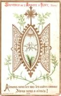 Souvenir De L'Abbaye Notre-Dame D'IGNY (Marne) - Aimons-nous Les Uns Les Autres Comme Jésus Nous A Aimés ! - Devotion Images
