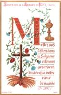 Souvenir De L'Abbaye Notre-Dame D'IGNY (Marne) - Mettez Vos Délices Dans Le Seigneur Et Il Vous Accordera Tout ... TBE - Devotion Images