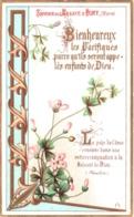 Souvenir De L'Abbaye Notre-Dame D'IGNY (Marne) - Bienheureux Les Pacifiques Parce Qu'ils Seront Appelés ... TBE - Devotion Images