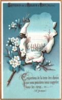 Souvenir De L'Abbaye Notre-Dame D'IGNY (Marne) - Emportons De La Terre Des Choses Que Nous Puissions Nous ... TBE - Andachtsbilder