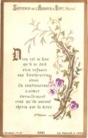 Souvenir De L'Abbaye Notre-Dame D'IGNY (Marne) - Dieu Est Si Bon Qu'il Ne Doit Rien Refuser Aux Bienheureux Ains ... TBE - Devotion Images