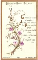 Souvenir De L'Abbaye Notre-Dame D'IGNY (Marne) - Consolez-vous Et Espérez ! Je Me Suis Nourri Du Pain Vivant ... TBE - Devotion Images
