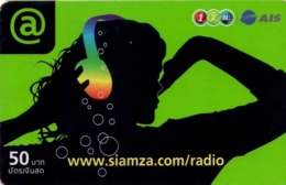 TAILANDIA. RADIO. Www.siamza.com/radio. 06/2009. TH-12Call-1600 B. (040) - Tailandia
