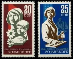 DDR 1967 Nr 1256-1257 Postfrisch SFE725A - [6] Democratic Republic
