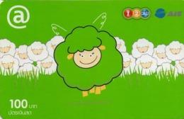 TAILANDIA. Sheep With @. 06/2010. 7402. TH-12Call-1674 F. (013) - Tailandia