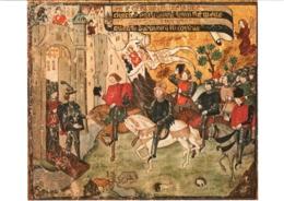 CPM 45 (Loiret) Orléans - Jeanne D'Arc Annonce à Charles VII La Libération D'Orléans, Miniature XVe TBE - Personaggi Storici