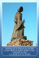 CPM 55 (Meuse) Vouthon - Monument Isabelle Romée, Mère De Jeanne D'Arc TBE, Près Domremy-la-Pucelle - Personaggi Storici