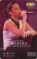 TAILANDIA. MUSICA - CANTANTE. Marsha 3/4. 06/2007. TH-12Call-0794. (028) - Music