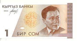 KIRGHIZISTAN 1 SOM ND1994 UNC P 7 - Kirgizïe