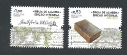 Portugal 2019 - 200 Years Almeida's Bible Edition Set MNH - 1910 - ... Repubblica