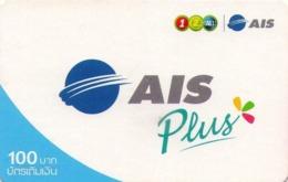 TAILANDIA. AIS Plus-03. 100 ฿. 1853. 12/2007. TH-12Call-1111A. (034) - Tailandia
