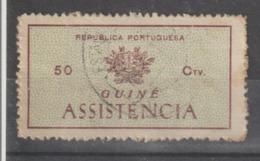 GUINE IMPOSTO POSTAL 8 - USADO - Guinea Portuguesa