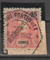 CONGO CE AFINSA 47 - POSTMARKS OF ANGOLA - Congo Portuguesa