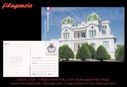 CUBA. ENTEROS POSTALES. TARJETA POSTAL FRANQUEO PREPAGO. 2019 CIENFUEGOS. CLUB NÁUTICO DE CIENFUEGOS - Cuba