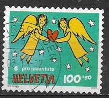 SVIZZERA 2007 PRO JUVENTUTE E NATALE UNIF. 1963 USATO VF - Svizzera