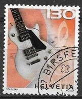 SVIZZERA 2008 MUSICA STRUMENTI UNIF. 1982 USATO VF - Svizzera