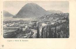 Schweiz, Svizzera, Lugano E Monte S. Salvatore - Suiza