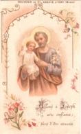 Souvenir De L'Abbaye Notre-Dame D'IGNY (Marne) - Allons à Joseph Avec Confiance, Sûrs D'être Exaucés TBE - Devotion Images