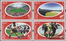 Hong Kong 1168-1171 Block Of Four (complete Issue) Unmounted Mint / Never Hinged 2004 Rugby Sevens - 1997-... Chinese Admnistrative Region