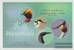 Hong Kong 1113-1116MH (complete Issue) Stamp Booklet Unmounted Mint / Never Hinged 2003 Waterbirds - 1997-... Chinese Admnistrative Region