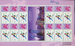 Hong Kong 991Klb Sheetlet (complete Issue) Unmounted Mint / Never Hinged 2001 Olympic. Summer In Beijing - 1997-... Chinese Admnistrative Region