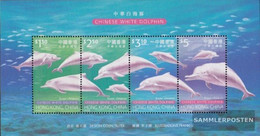 Hong Kong Block67 (complete Issue) Unmounted Mint / Never Hinged 1999 Conservation Buckeldelphin - 1997-... Chinese Admnistrative Region