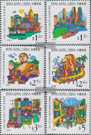 Hong Kong 887-892 (complete Issue) Unmounted Mint / Never Hinged 1999 Tourism - 1997-... Chinese Admnistrative Region