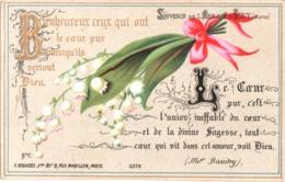 Souvenir De L'Abbaye Notre-Dame D'IGNY (Marne) - Bienheureux Ceux Qui Ont Le Coeur Pur Parce Qu'ils Verront ... TBE - Andachtsbilder