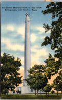 Texas Houston San Jacinto Memorial Shaft 1941 - Abilene