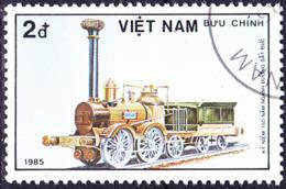 Vietnam - 150 Jahre Deutsche Eisenbahn (MiNr: 1610) 1985 - Gest Used Obl - Vietnam
