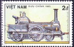 Vietnam - 150 Jahre Deutsche Eisenbahn (MiNr: 1611) 1985 - Gest Used Obl - Vietnam
