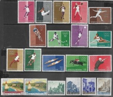 San Marino  1960  3 Sets  MLH  2016 Scott Value  $6.95 - Unused Stamps