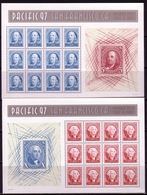 USA MI-NR. 2830-2831 POSTFRISCH(MINT) SCHMUCKBOGEN PACIFIC 97 SAN FRANCISCO - Blocks & Sheetlets