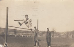 """RP: DOVER, Kent, England, UK, 1921 ; Track """"High Jump"""" - Dover"""