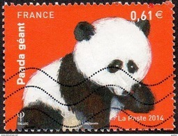 Oblitération Moderne Sur Timbre De France N° 4843 Nature - Animal -> Panda Géant - Francia