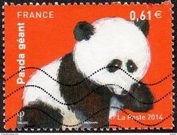 Oblitération Moderne Sur Timbre De France N° 4843 Nature - Animal -> Panda Géant - Used Stamps