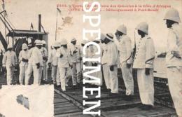 Voyage De Ministre Des Colonies à La Côte D'Afrique - Côte D'Ivoire -Débarquement à Port-Bouët - Côte-d'Ivoire
