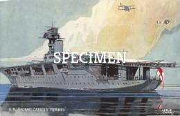 H.M. Aircraft Carrier Hermes - Guerre