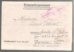 24300 - STALAG XII D De TRIER  PETRIBERG - Poststempel (Briefe)