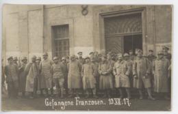 ° 57 ° AVRICOURT (ELFRINGEN) ° PRISONNIERS FRANCAIS 1917 ° WW1 ° CARTE PHOTO ALLEMANDE ° - Other Municipalities