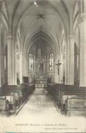 2216 Bourgon - Intérieur De L'Eglise - Argentre