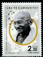 XC1011 Turkey 2019 Global Lianfa Mahatma Gandhi 1V MNH - 1921-... Repubblica