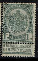 53  Obl Relais  Baeleghem  + 15 - 1893-1907 Coat Of Arms