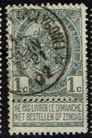 53  Obl Relais  Brasschaet (Polygone)  + 15 - 1893-1907 Coat Of Arms