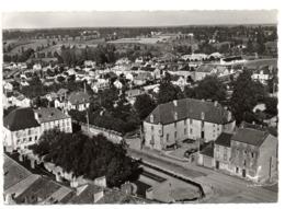 CPSM            87        BELLAC     1961     VUE AERIENNE       L HOTEL DE VILLE - Bellac