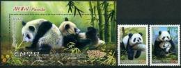 Korea 2012 Panda  Set+s/s  MNH - Osos