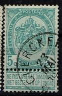 56  Obl Relais  Clercken  + 15 - 1893-1907 Coat Of Arms